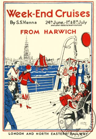 Harwich - London & North Eastern Railway